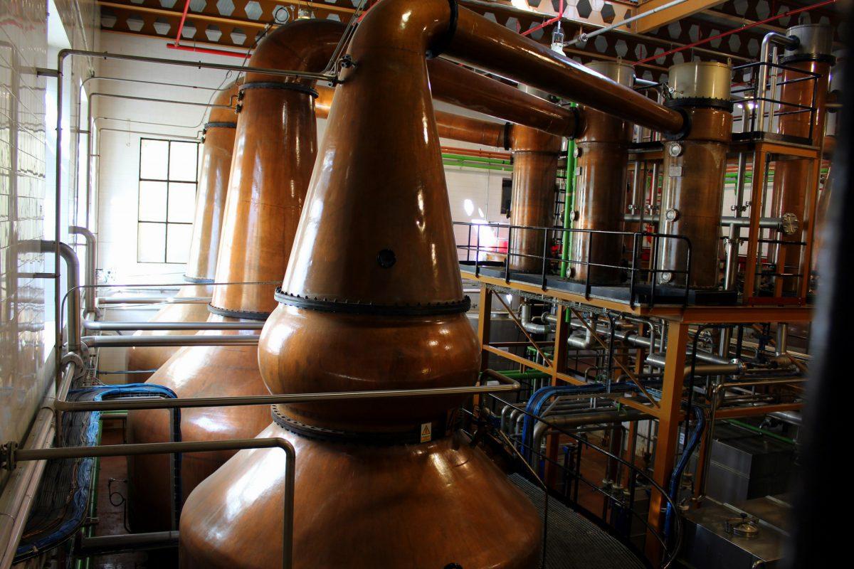 Alambique Whisky DYC