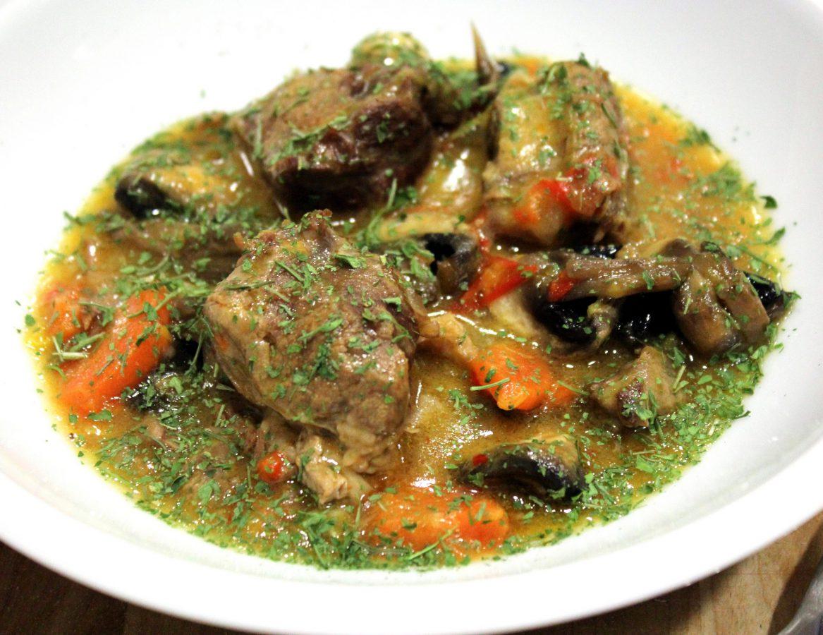Guiso de Ternera y Champiñones, una deliciosa receta