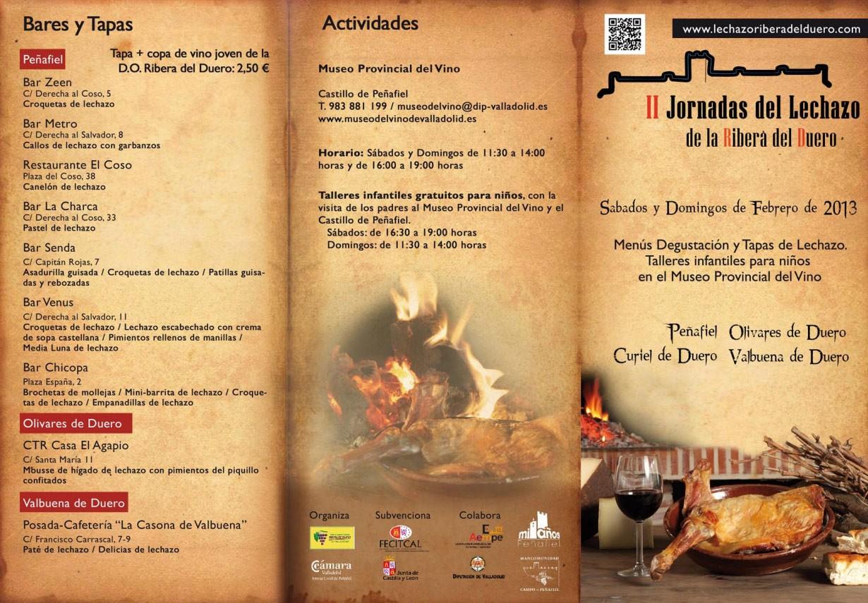 Programa 1 III Jornadas del Lechazo de la Ribera del Duero