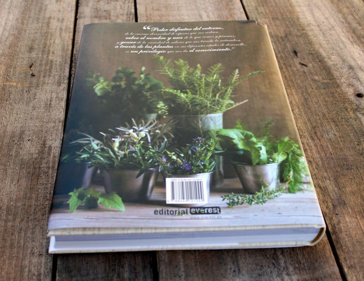 El Cocinero recolector y las plantas silvestres - contraportada