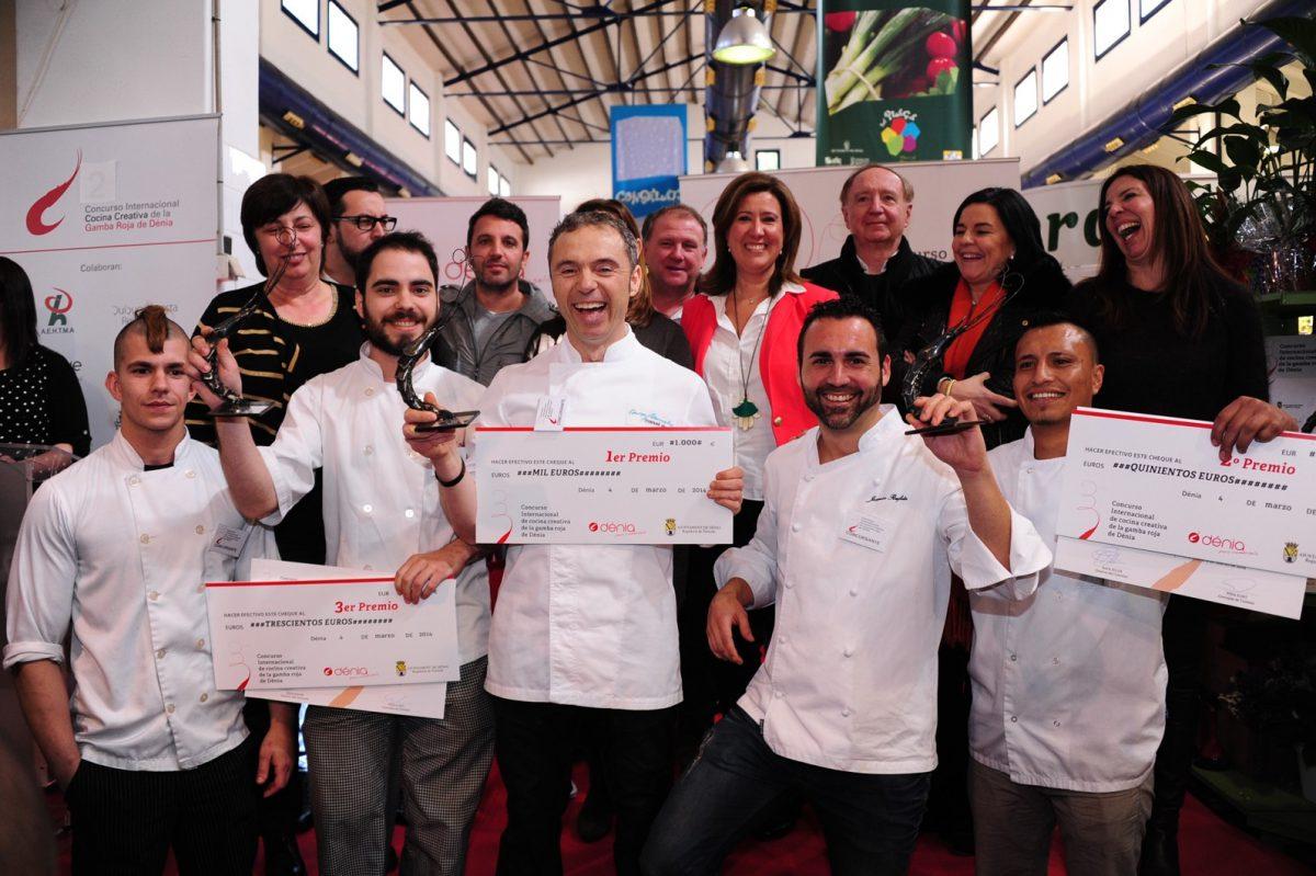 Ganadores del Concurso de Cocina Gamba Roja de Dénia