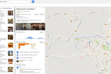 Google busqueda restaurantes