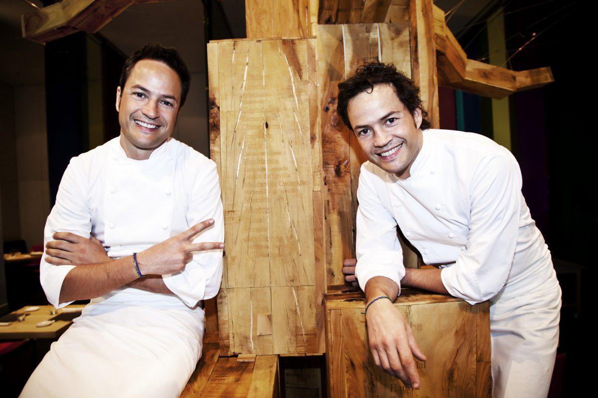 Hermanos Sergio y Javier Torres en cocinados