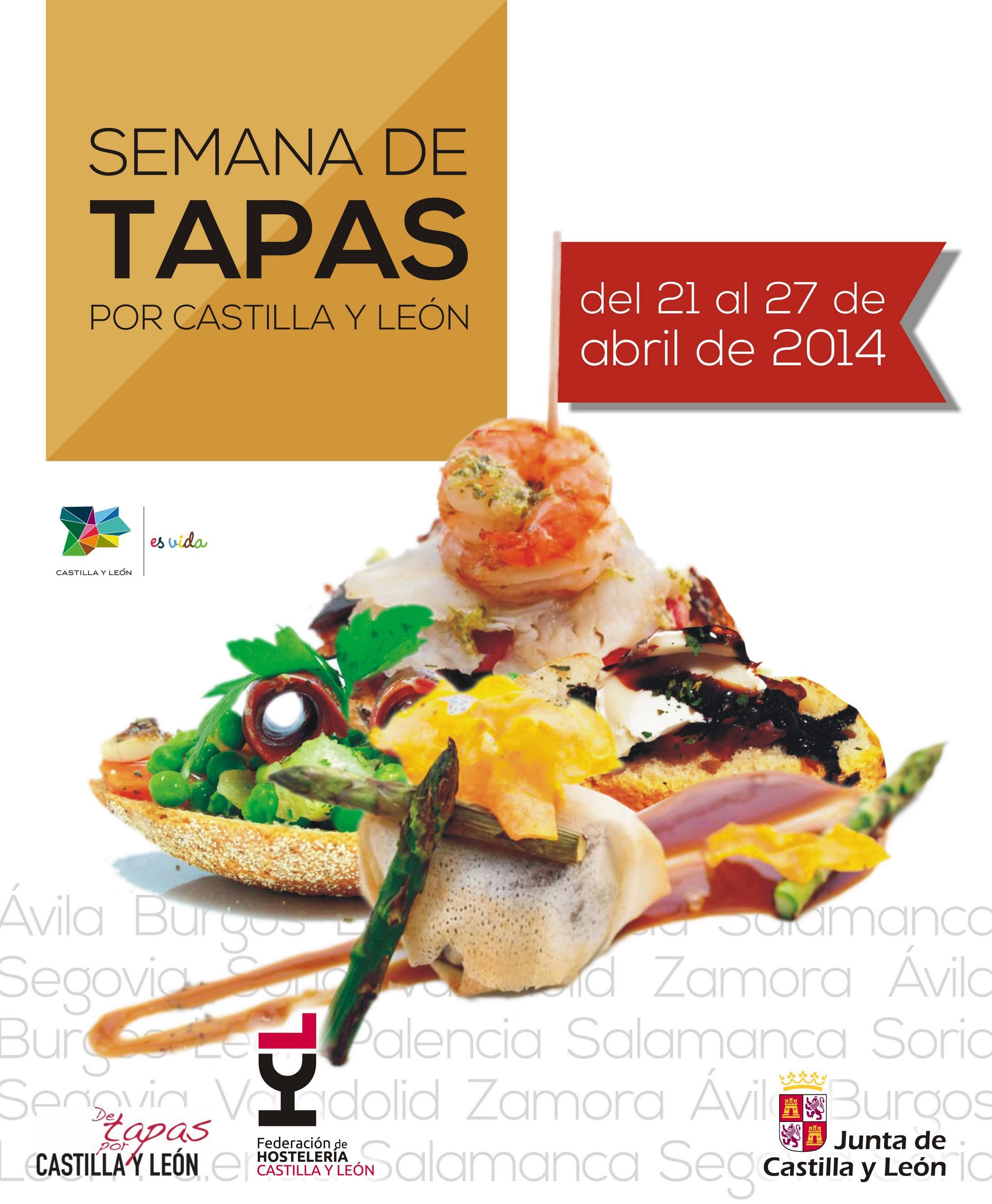 semana de las tapas por Castilla y leon