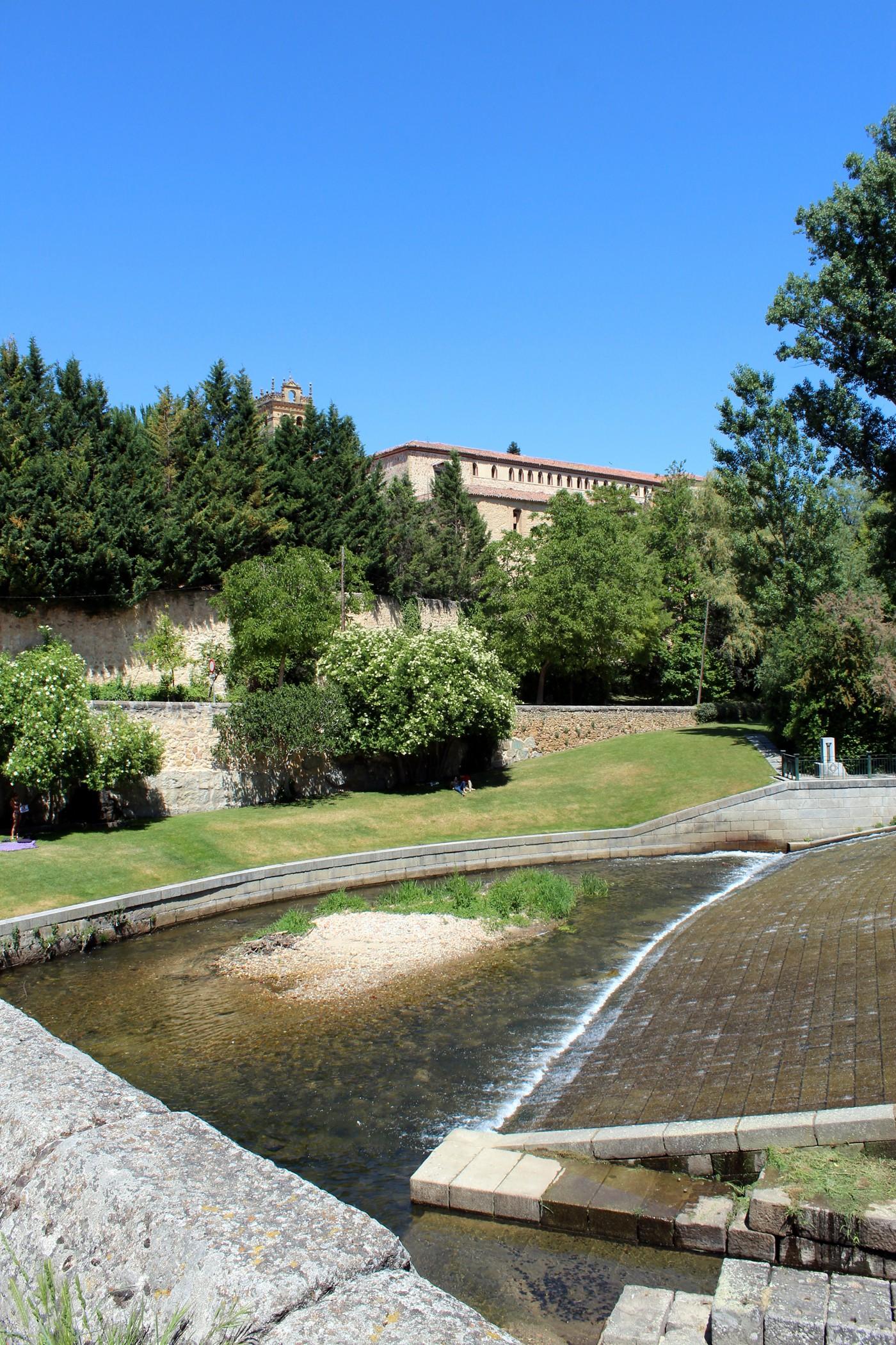 Monasterio de El Parral desde la Casa de la Moneda