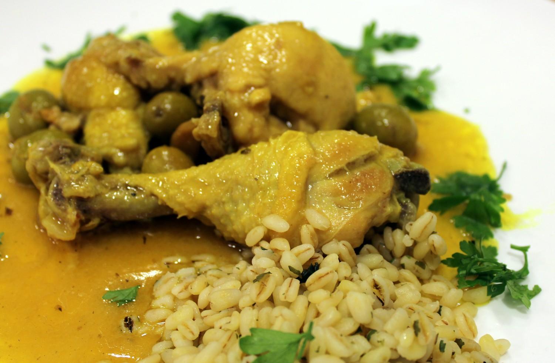 Receta De Pollo Con Aceitunas Un Guiso Sano Y Delicioso