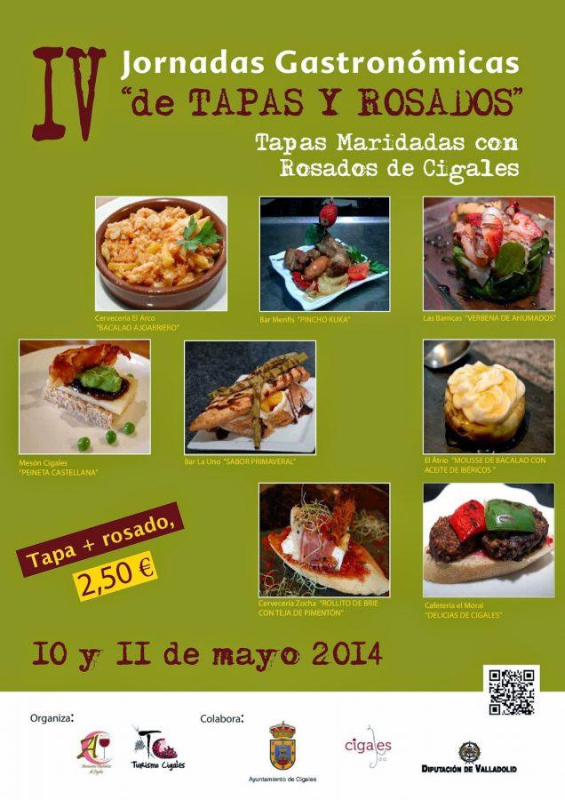 Tapas y cigales cartel 2014