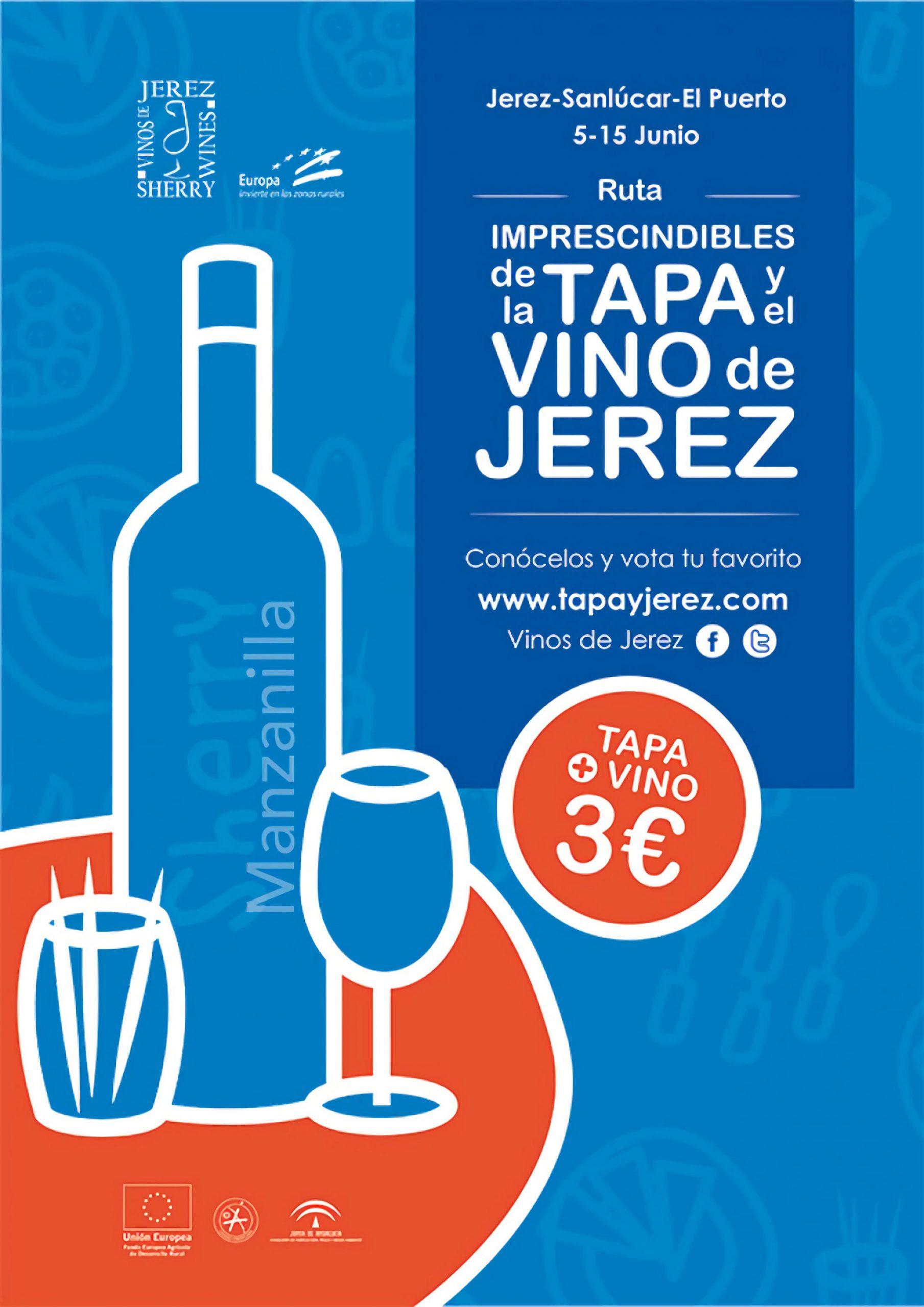 Los 30 establecimientos Imprescindibles de la Tapa y el Vino de Jerez