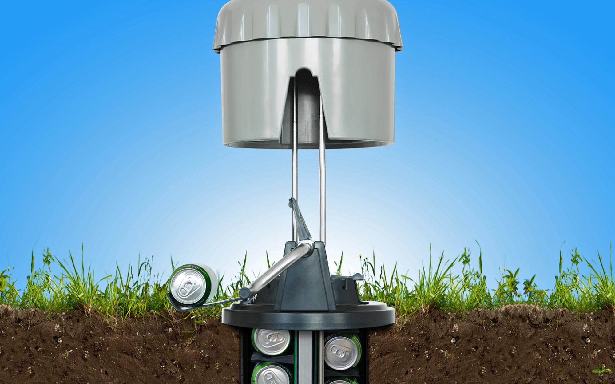 El eCool es la forma más simple de enfriar unas latas de cerveza o refresco sin usar energía