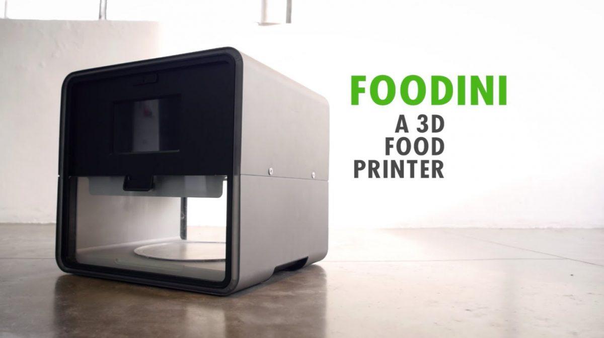 Foodini, la primera impresora 3D de comida española