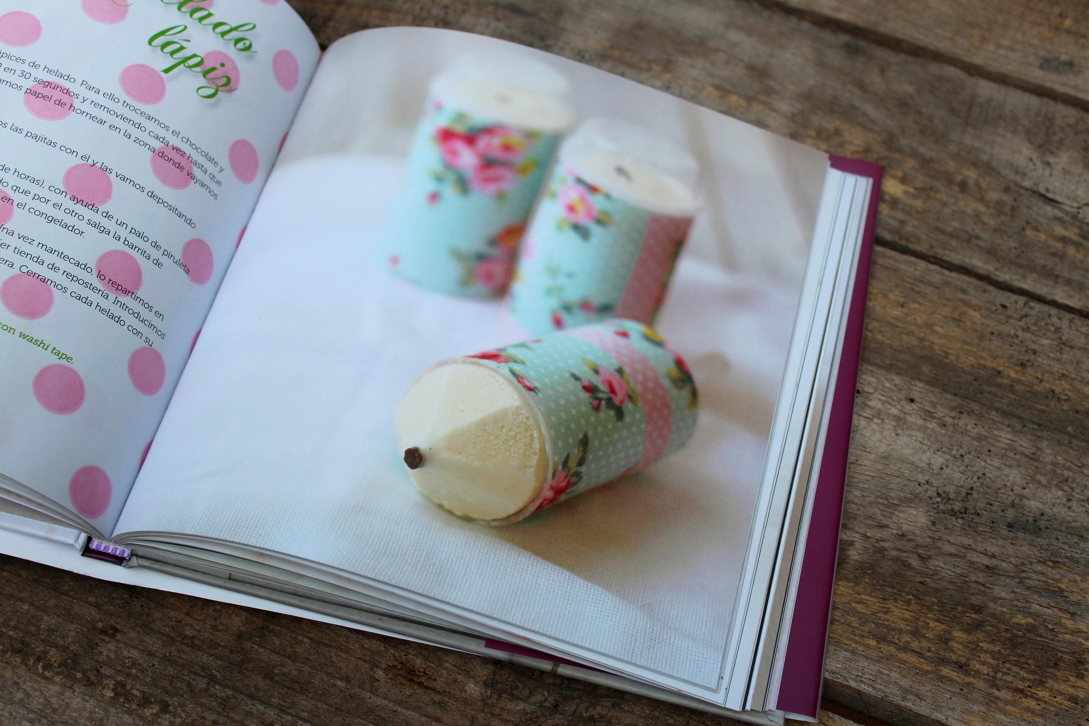 El nuevo libro de recetas de Sandra Mangas, Polos y Helados