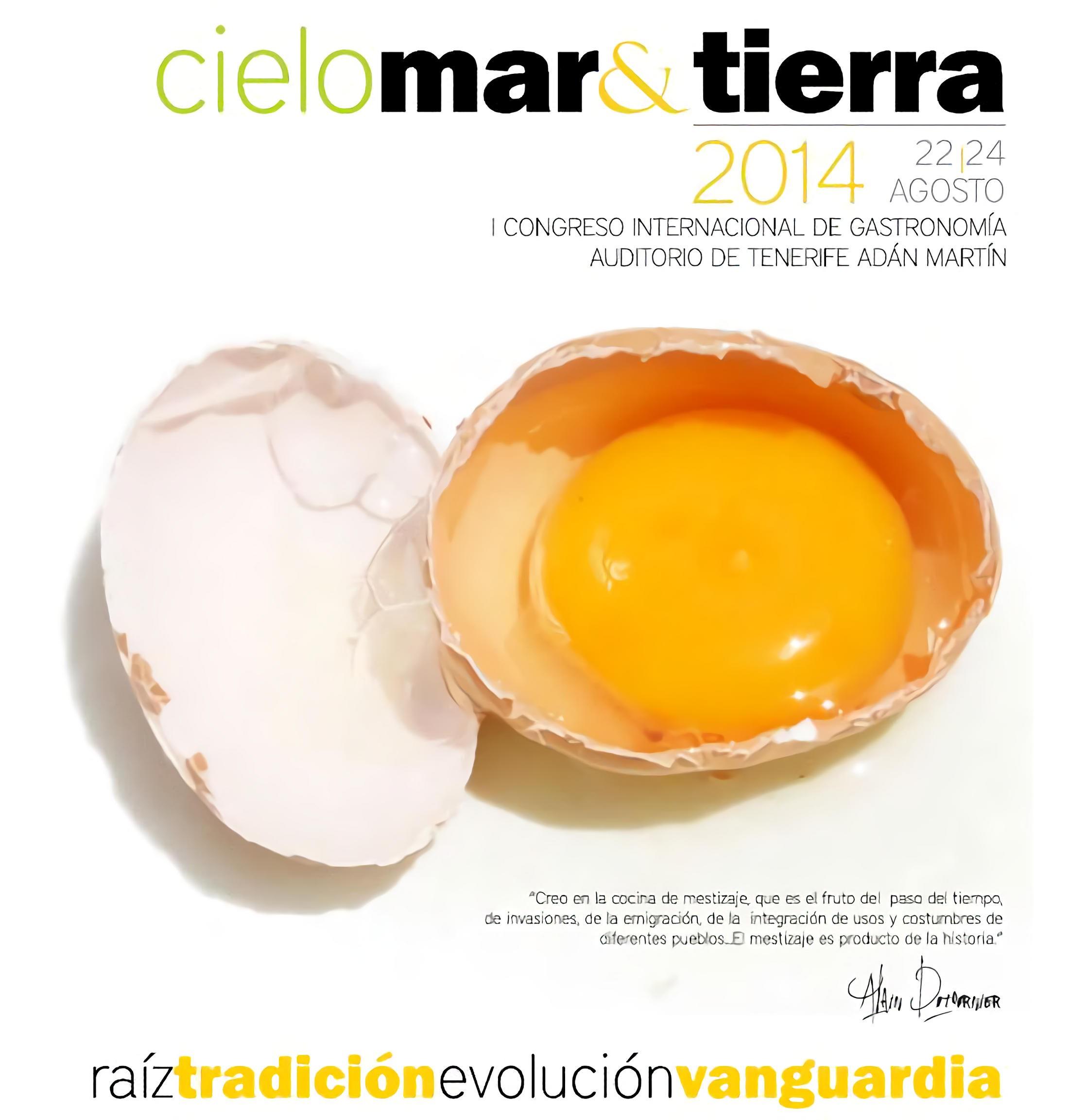 """I Congreso Internacional de Gastronomía """"Cielo Mar & Tierra"""""""