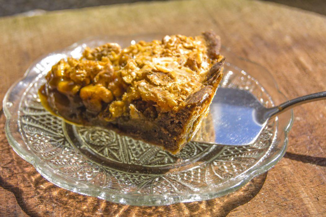 Porción de Tarta de nueces