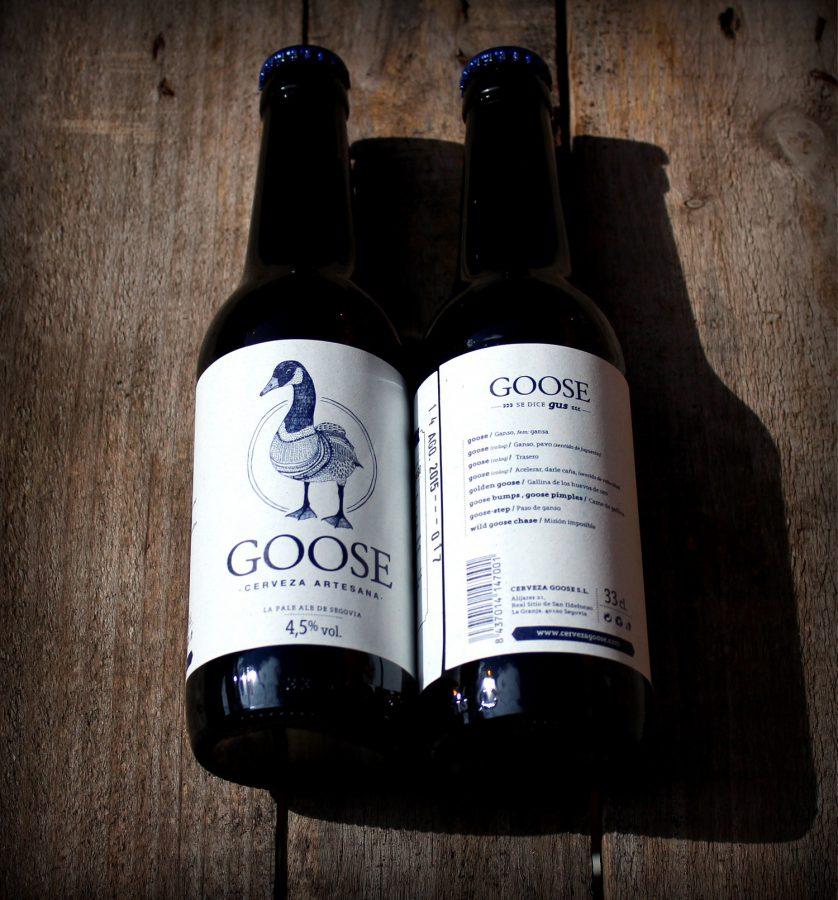 goose cerveza segovia