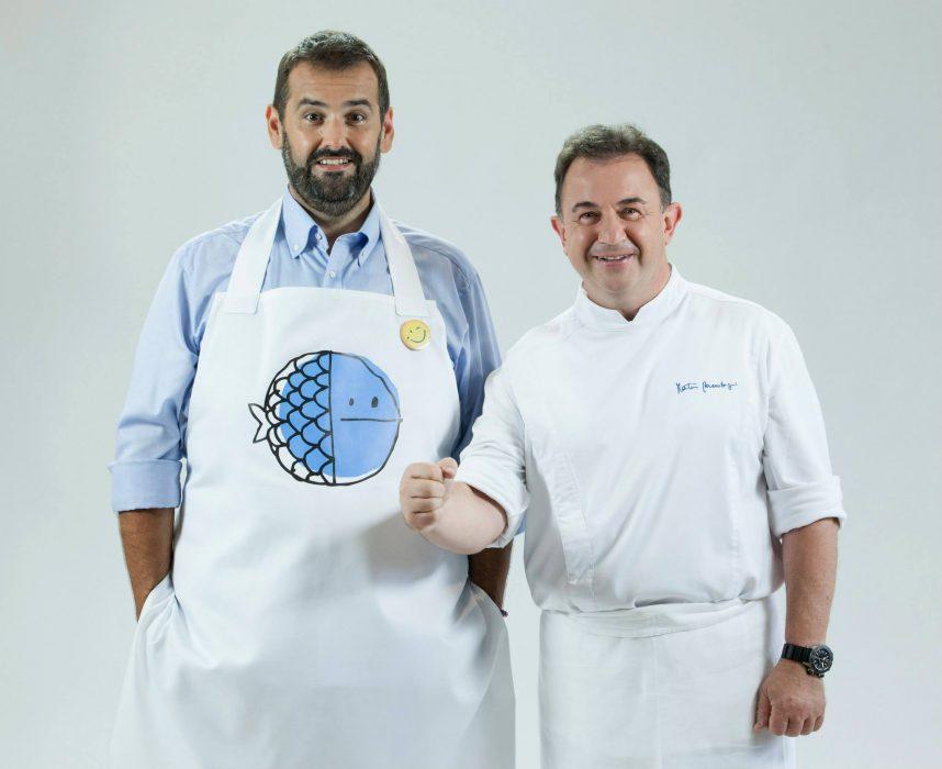 David de Jorge y Martín Berasategui