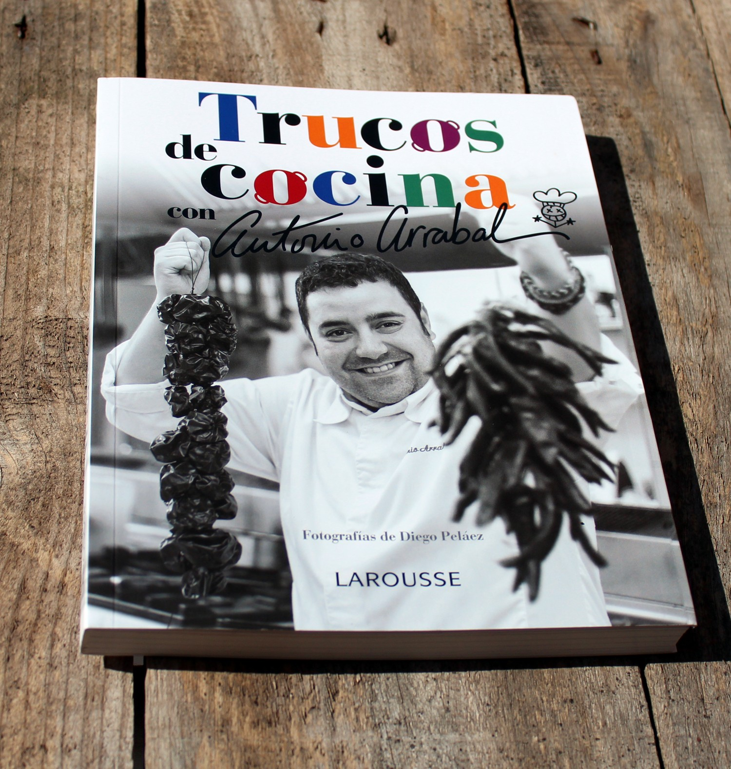trucos de cocina con antonio arrabal - libro