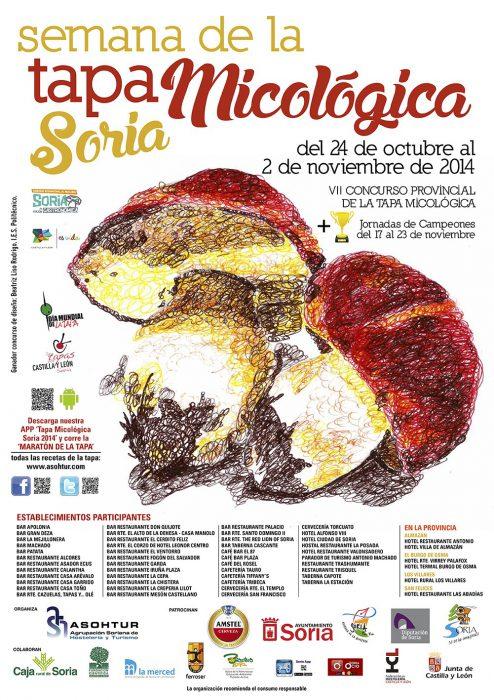 cartel tapa micologica 2014