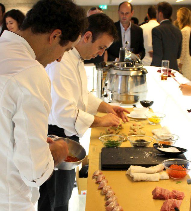 David Arauz y Roberto Limas - 99 sushi bar
