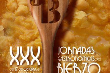 jornadas gastronomicas del bierzo - cartel