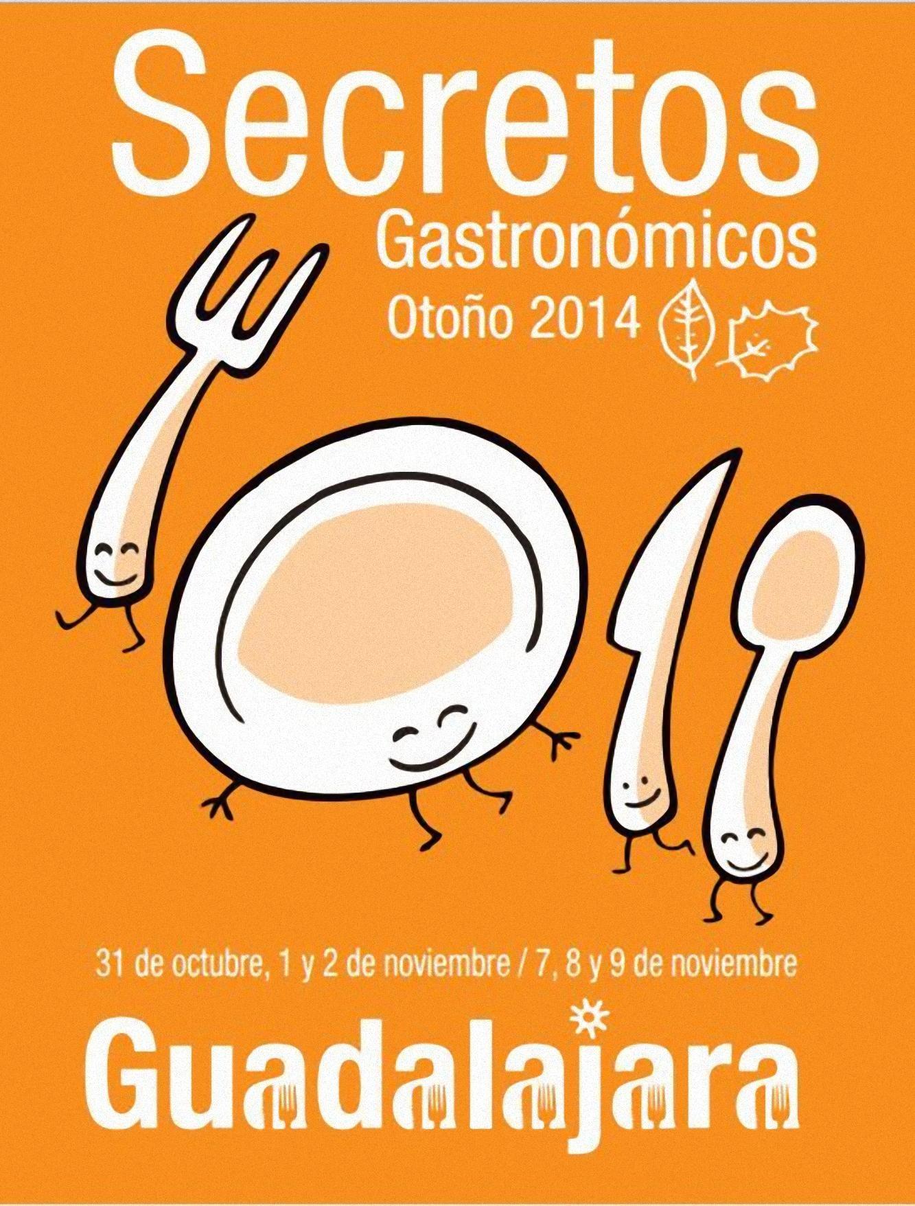 Secretos Gastronómicos de Otoño en Guadalajara 2014