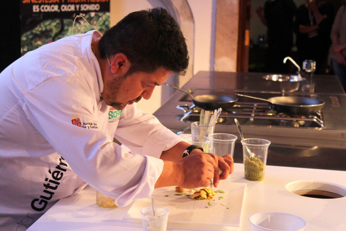 Víctor Gutiérrez en Soria Gastronómica