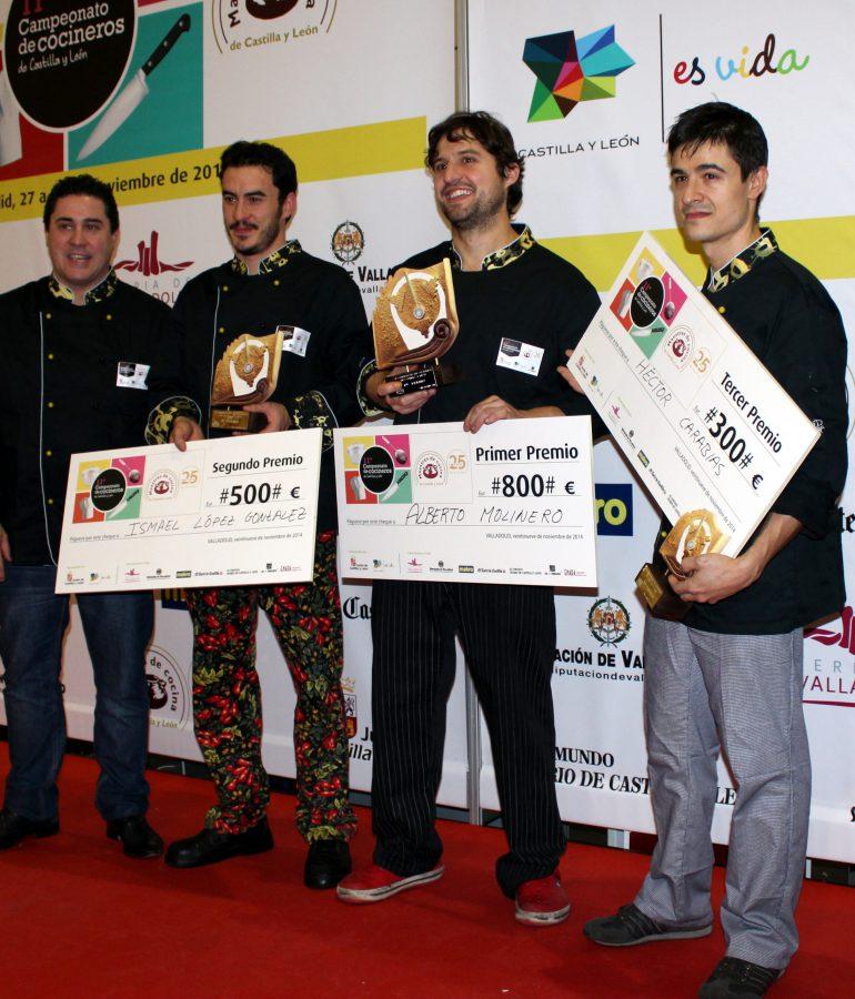 Final Campeonato Cocineros de Castilla y León 2014