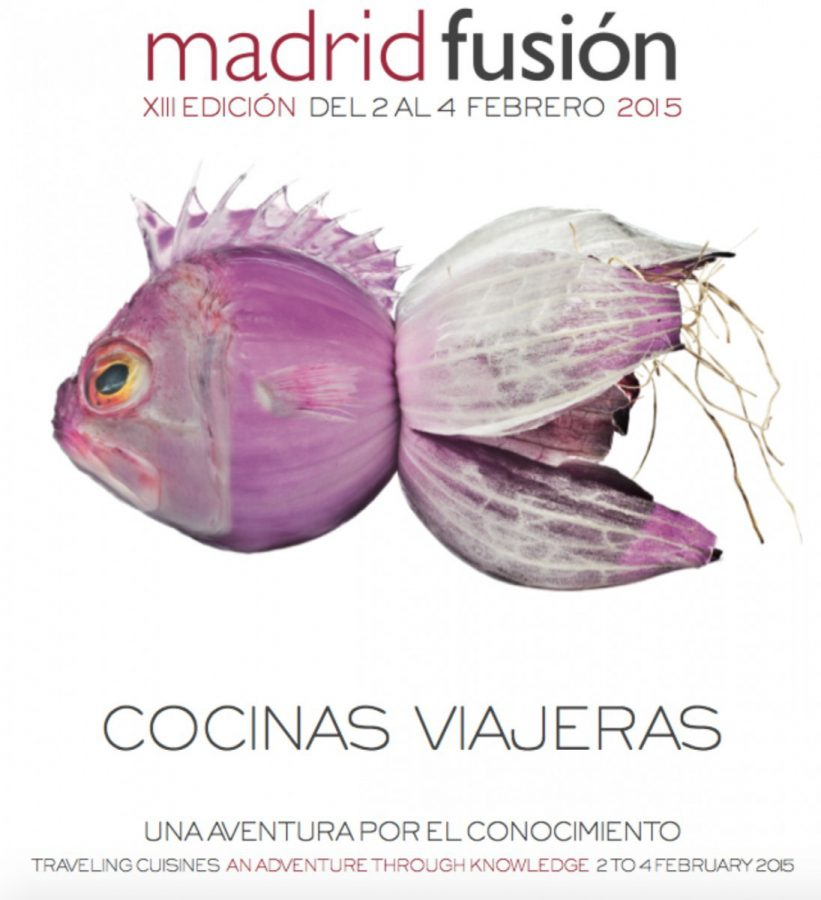 Cartel Madrid Fusión 2015
