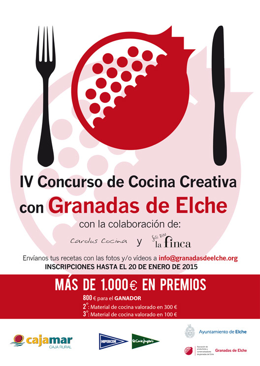 Iv concurso de cocina creativa con granada de elche - Concurso de cocina ...