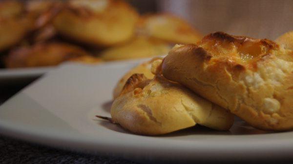 Gougères, un aperitivo fácil y riquisimo