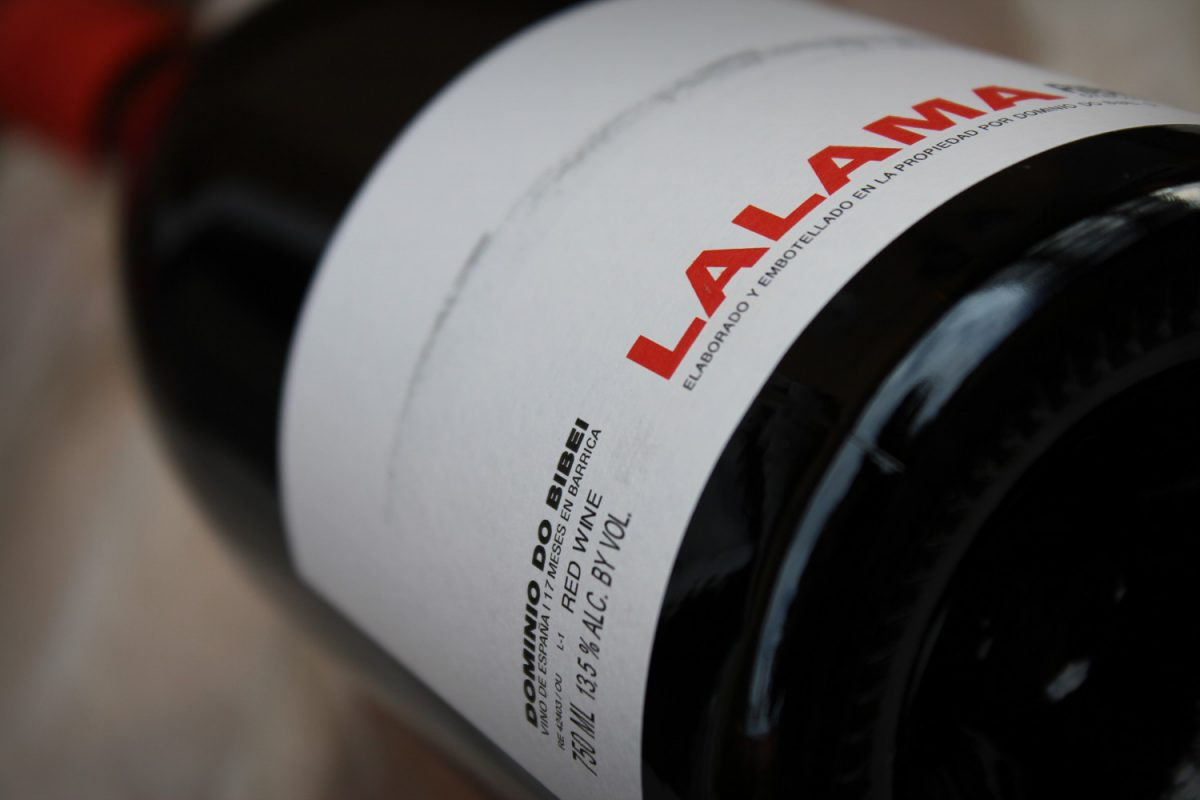 Vino Lalama 2011 de Dominio do Bibei