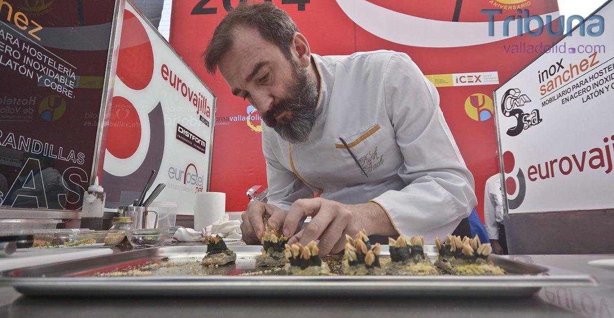 """Que percibes…"""" de Iñaqui rodriguez - ganador concurso pinchos valladolid 2014"""