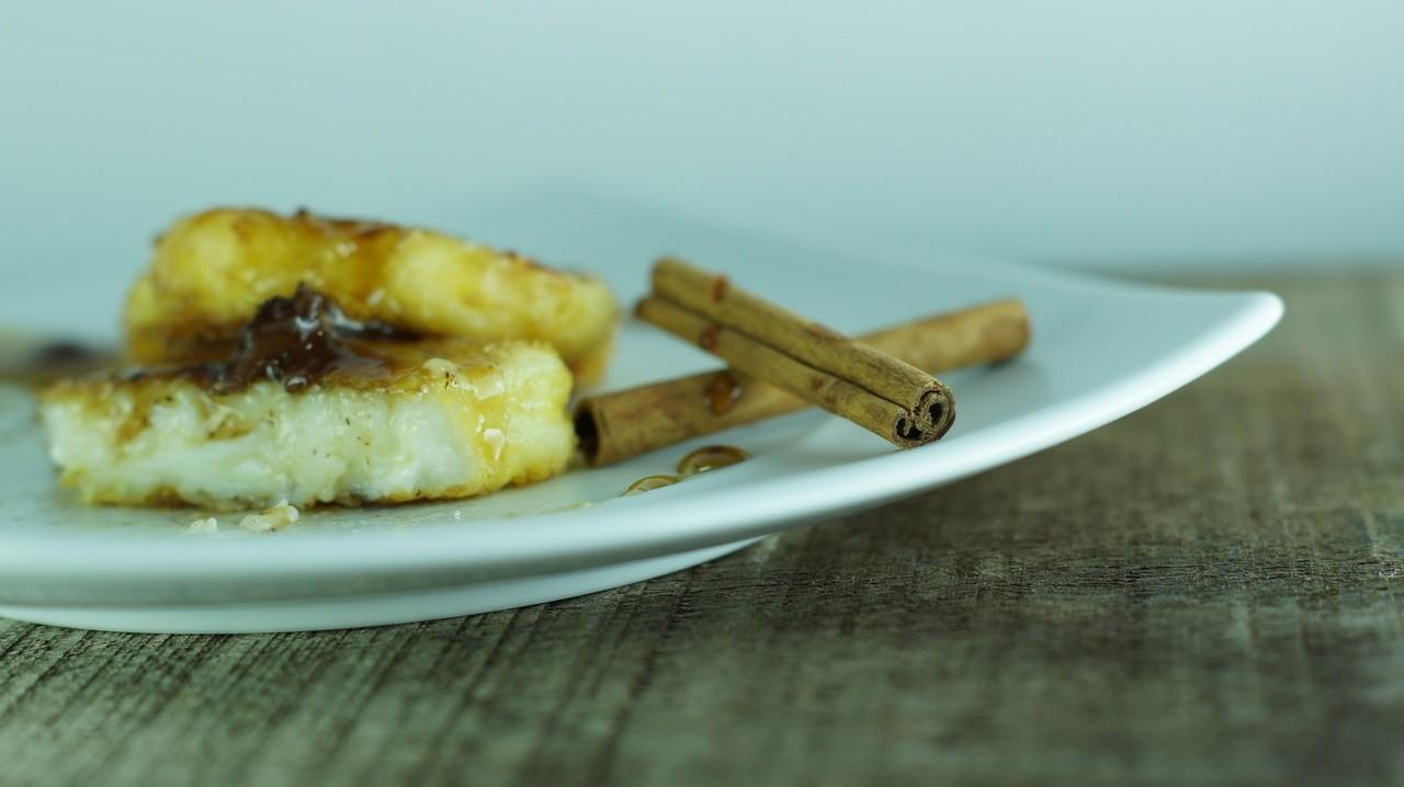 Leche Frita con Salsa Pedro Ximenez con pasas (6)