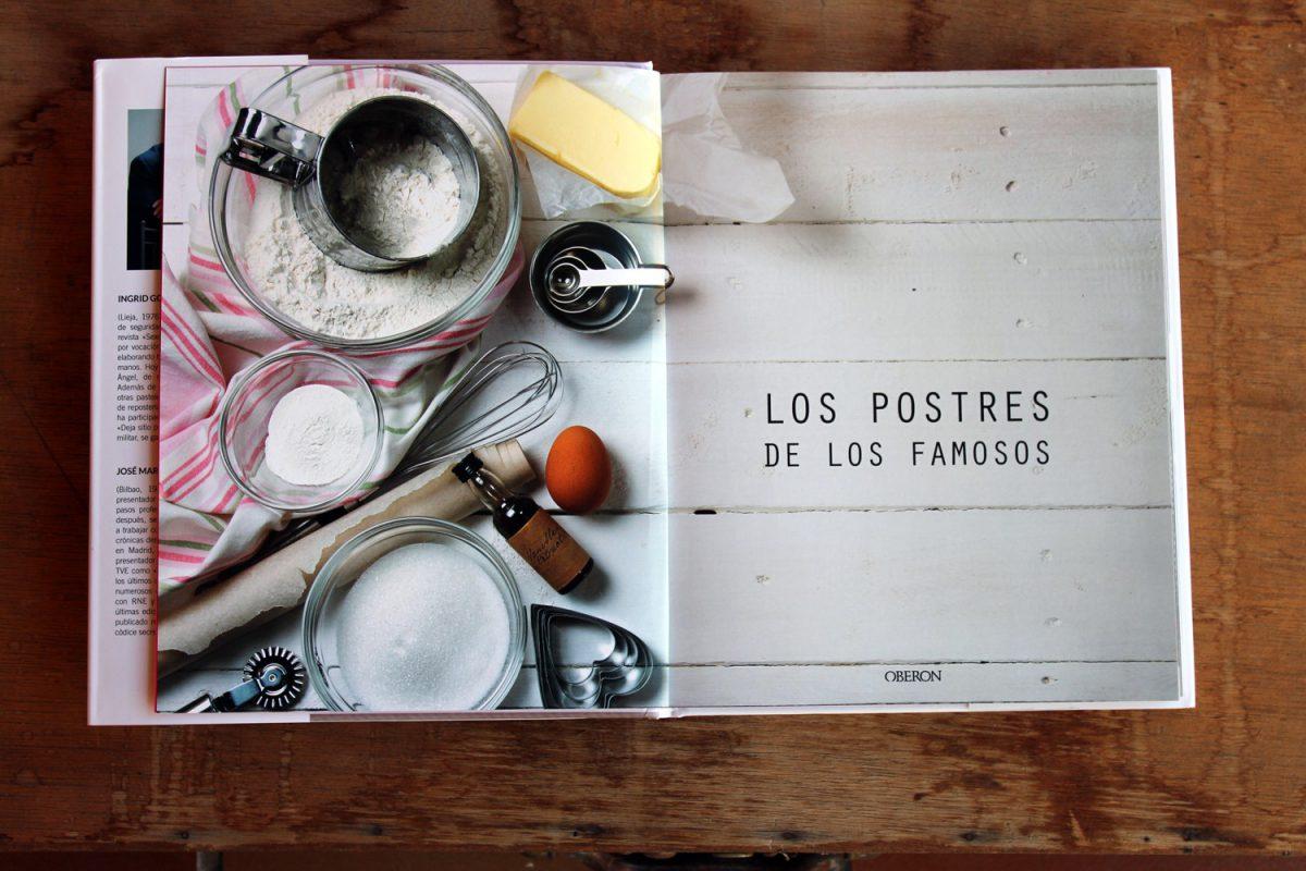 libro de recetas de famosos