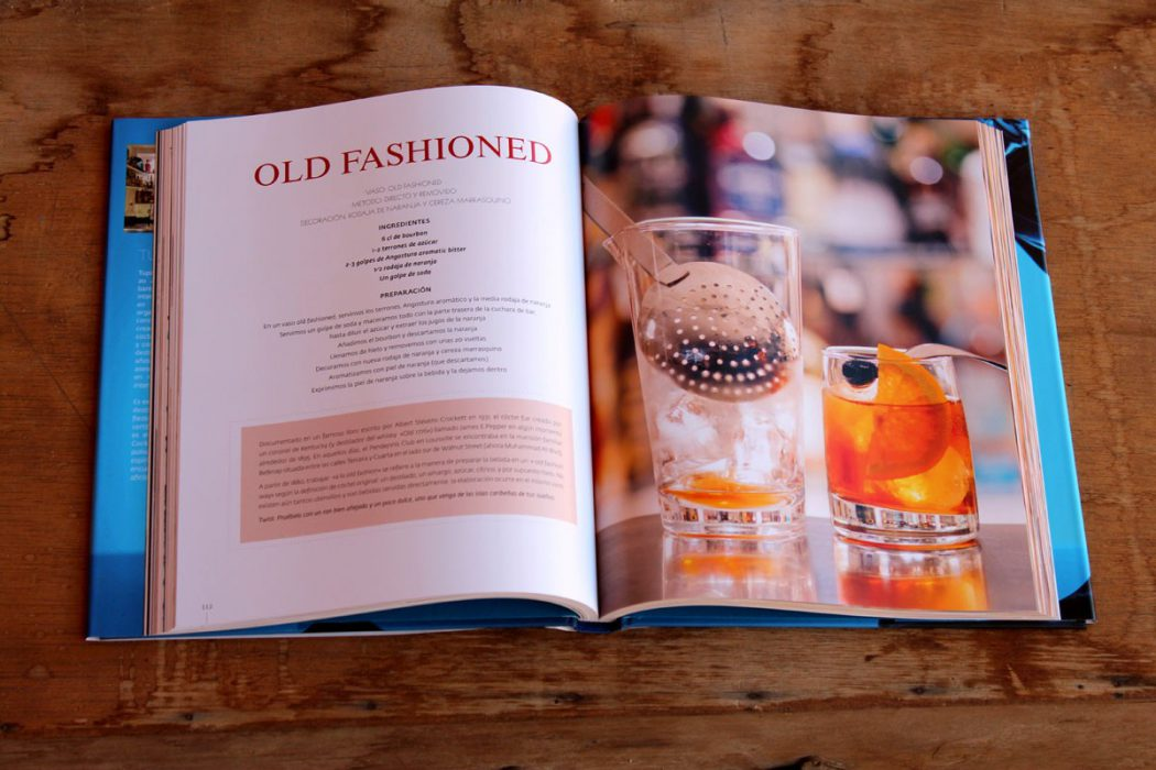old fashioned - libro coctel