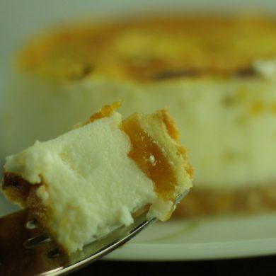 Tarta de Queso con mermelada de Níspero (17)