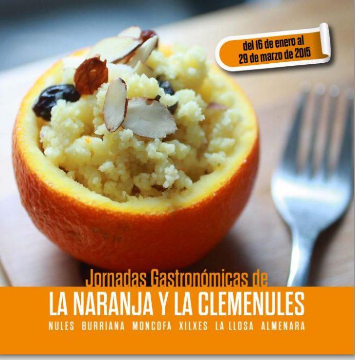 jornadas gastronomicas de la naranja y la clemenules de burriana