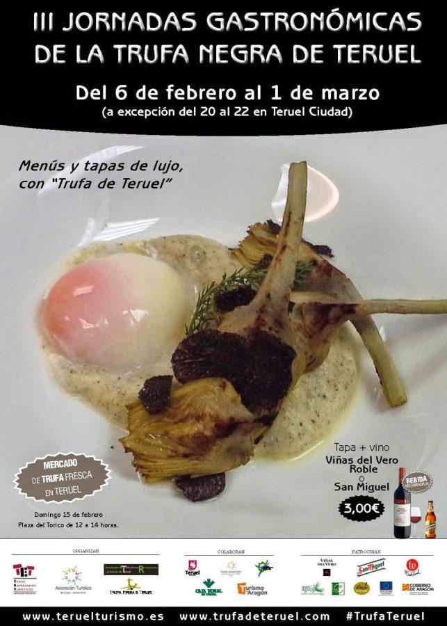 3ª Jornadas Gastronómicas de la Trufa Negra de Teruel