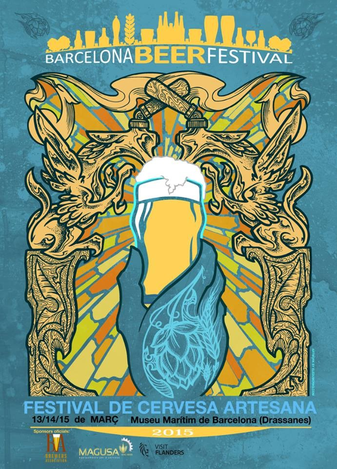 barcelona beer festival 2015 - cartel