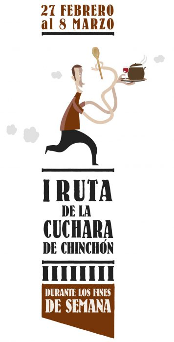 cartel ruta de la cuchara de chinchón 2015