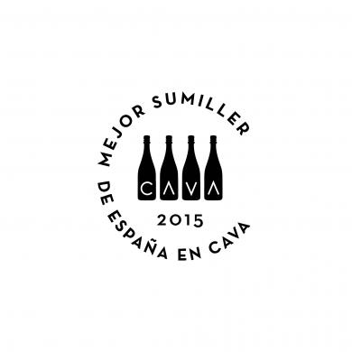 Logo Mejor Sumiller de España en Cava 2015