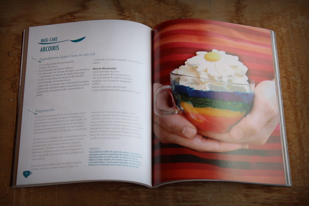 los mug cakes de victoria's cakes - libro de recetas-3