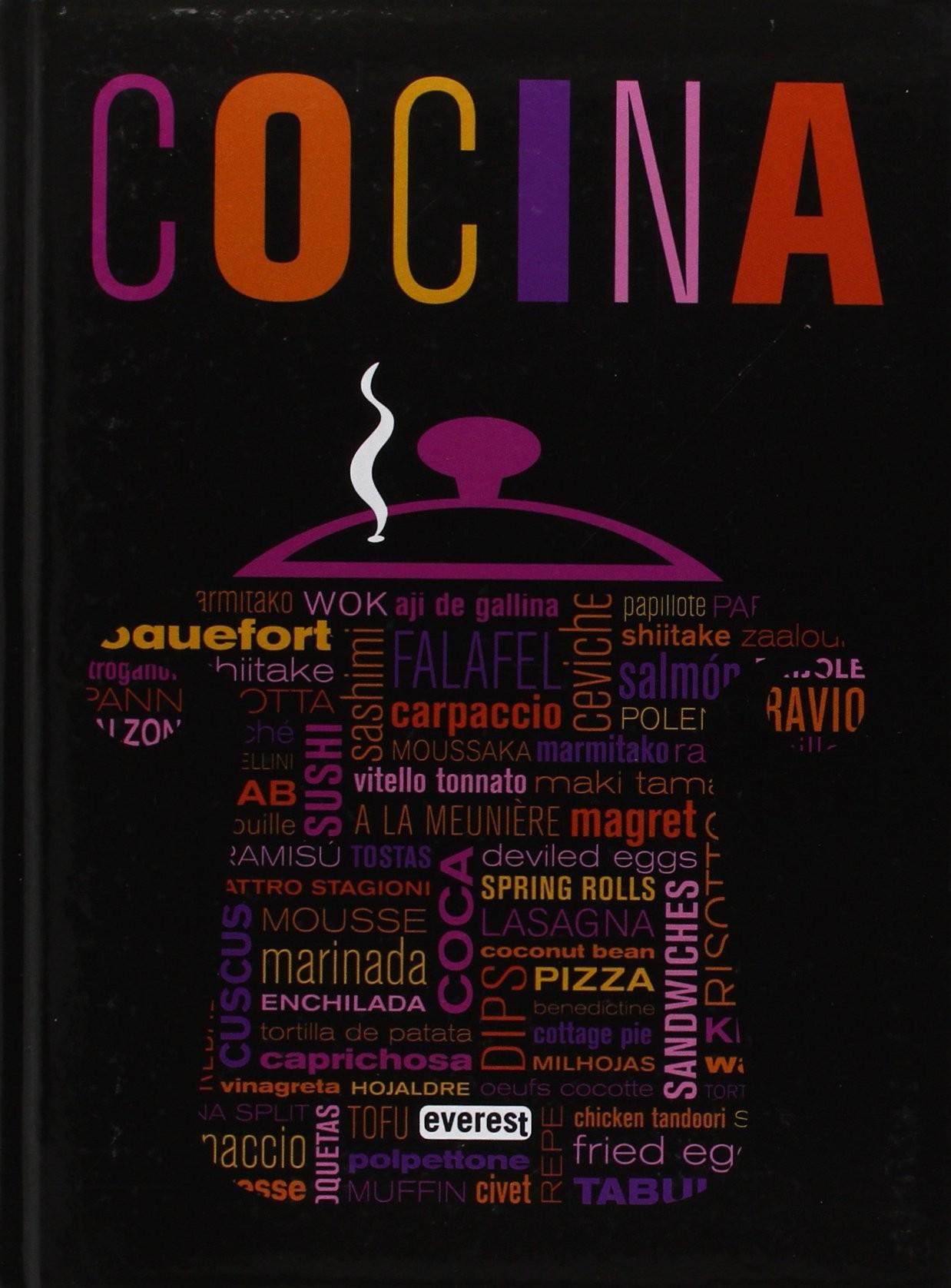 Cocina, un libro con más de 500 recetas internacionales