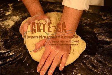 primer encuentro del pan artesano en la restauracion