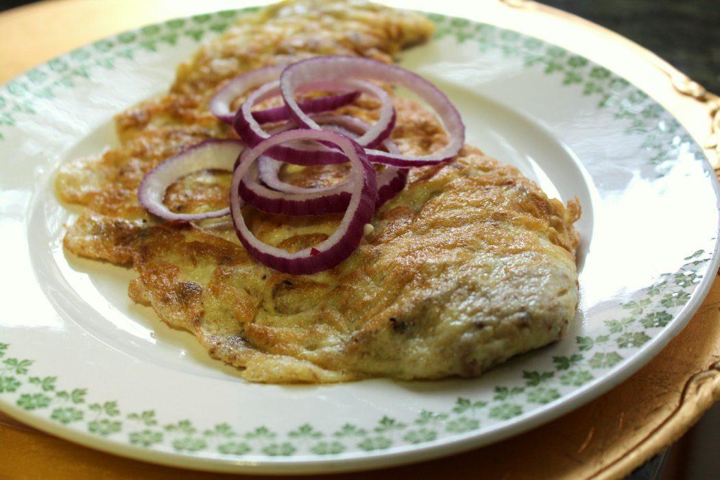 tortilla de chicharro en escabeche