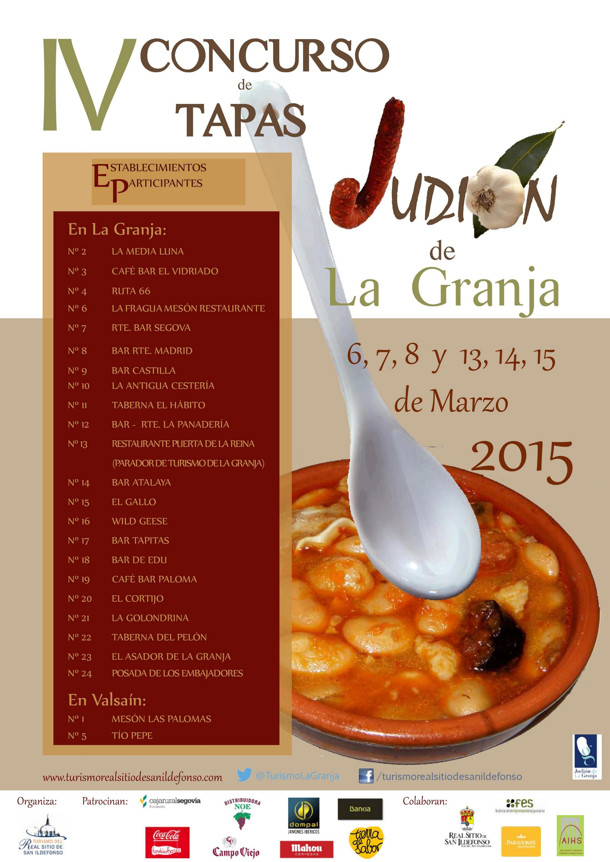 IV concurso de tapas Judión de La Granja
