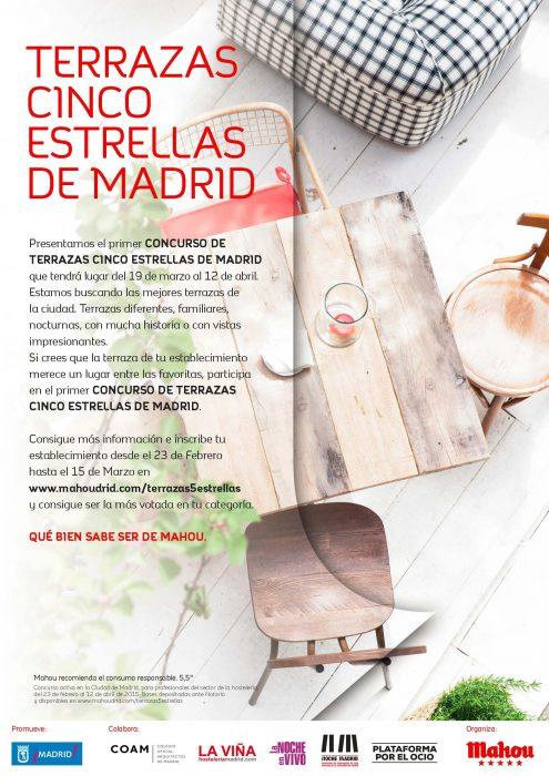 Concurso las mejores terrazas de Madrid
