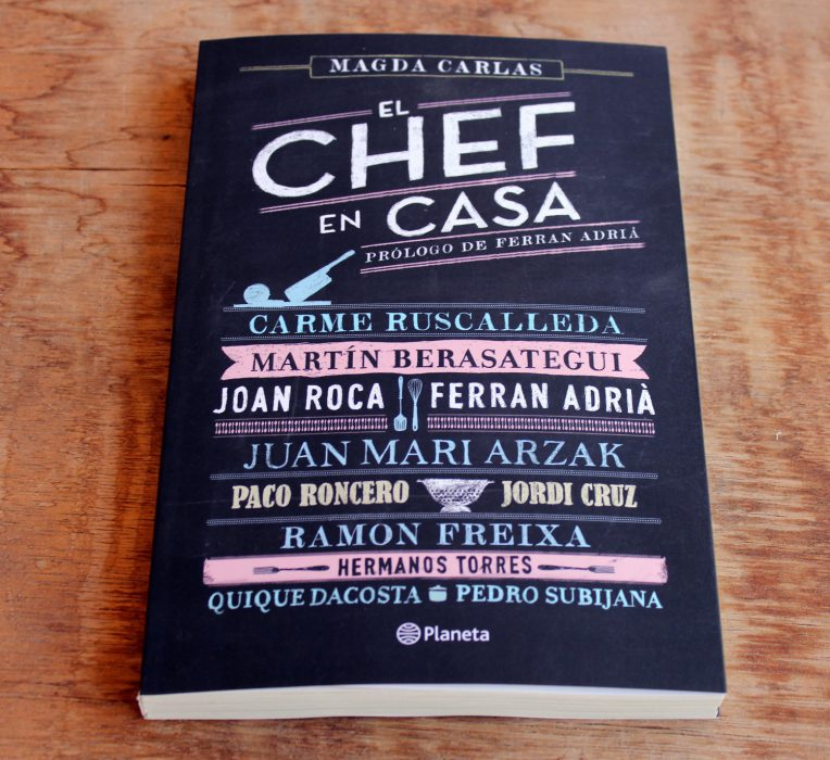 el chef en casa libro de cocina