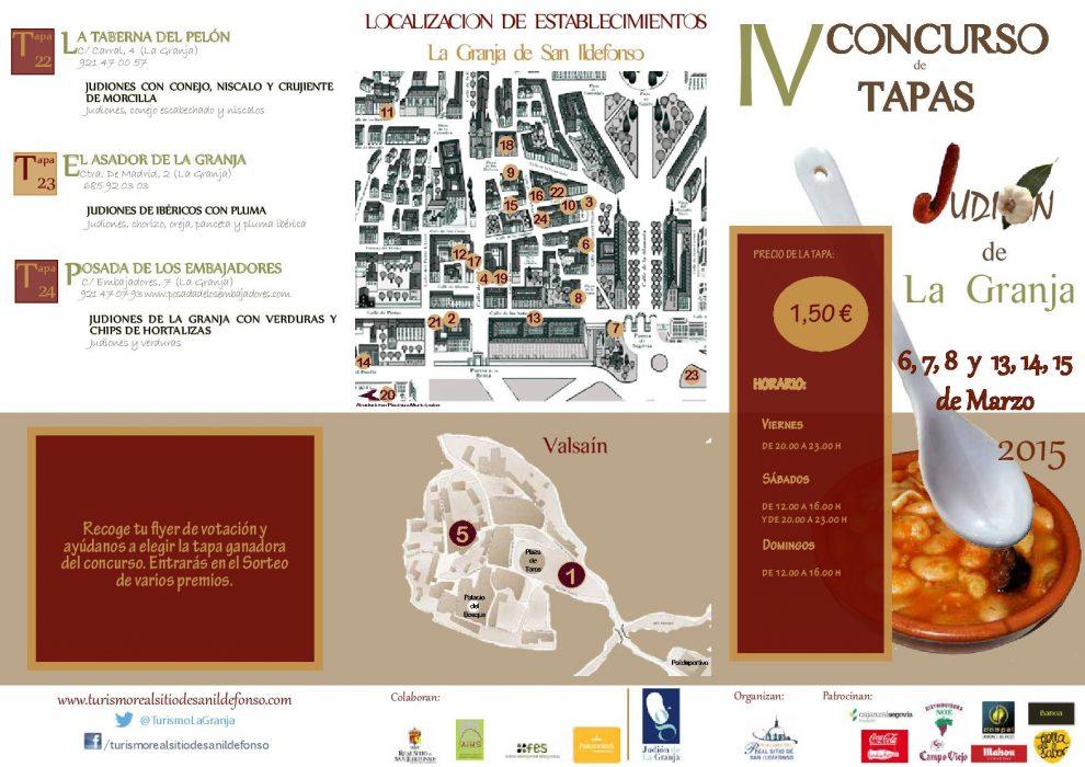 IV concurso de tapas Judión de La Granja (1)