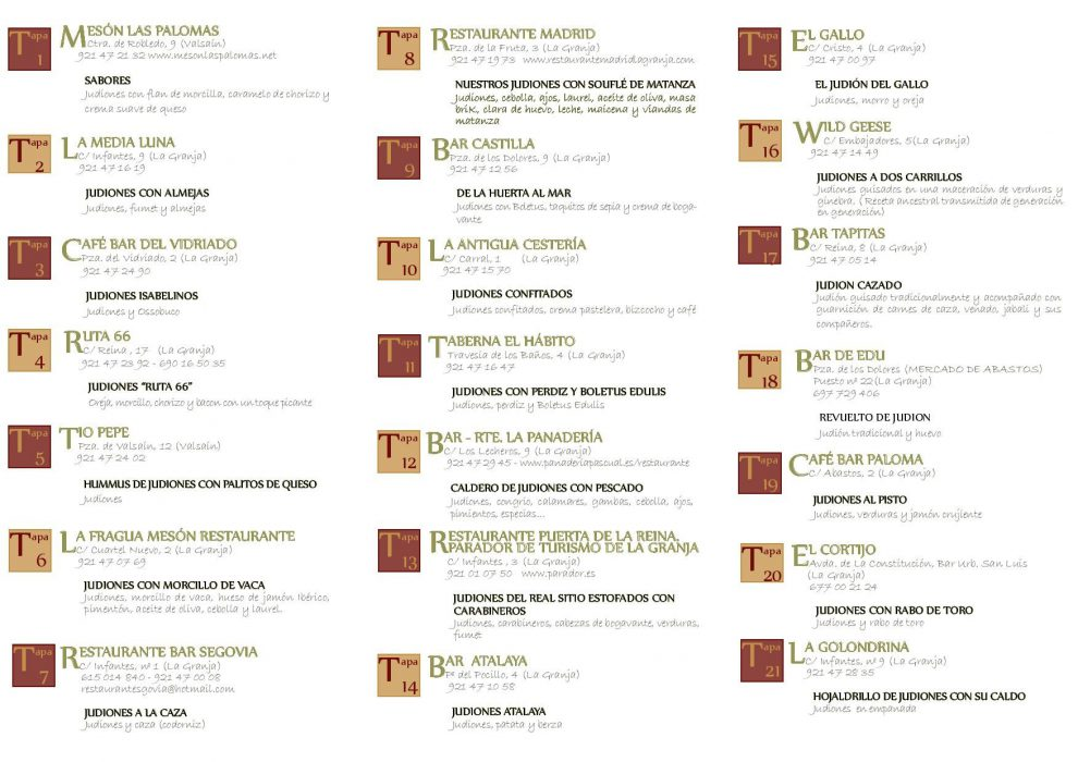 IV concurso de tapas Judión de La Granja (2)