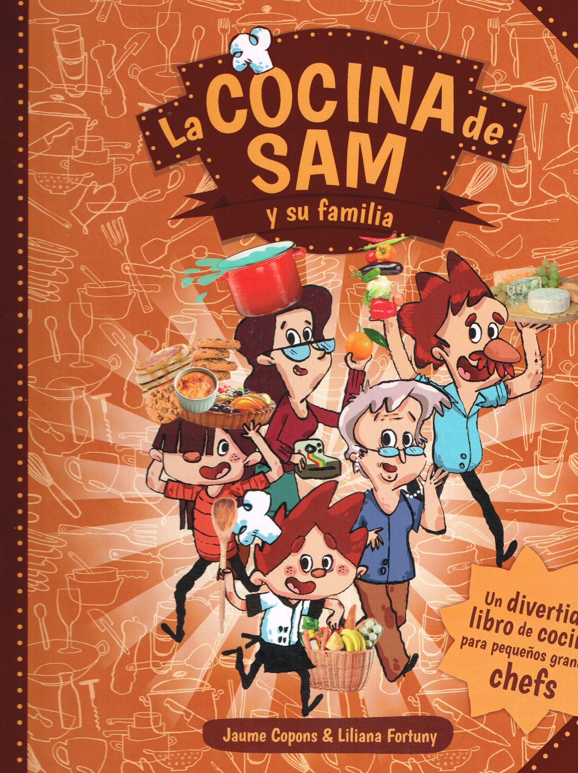 la cocina de sam y su familia - portada